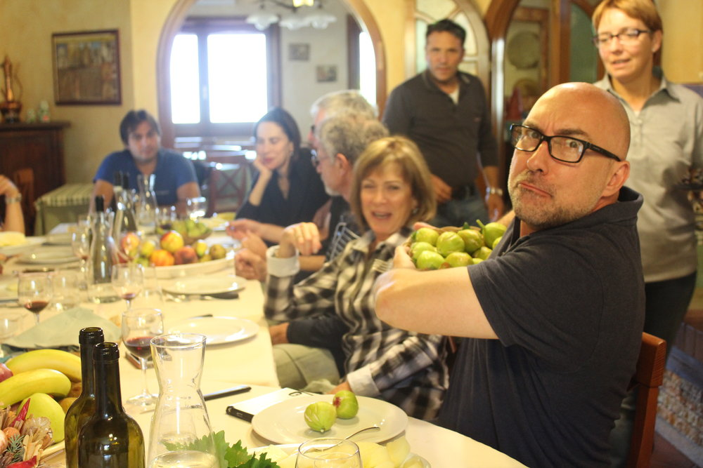 Christian hordes the fresh figs at Nonna Pina Country House in Bagnoli Irpino