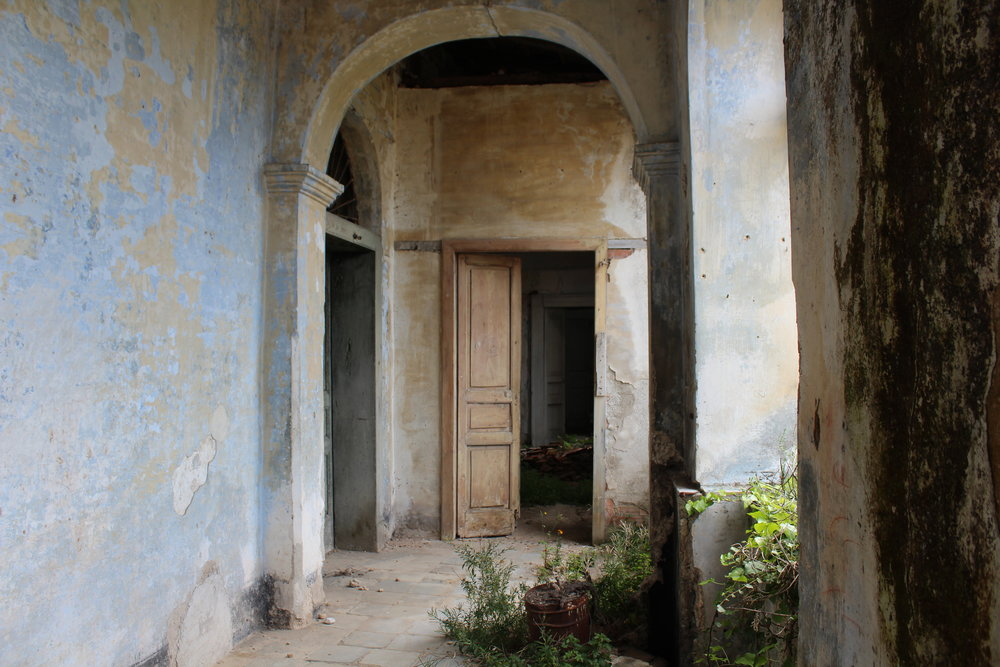 An abandoned palazzo in the Cilento that once belonged to Edgar Degas's aunt Laura