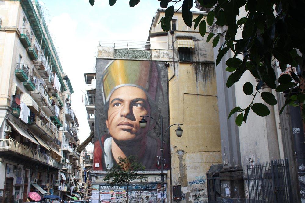 Jorit Agoch Mural of San Gennaro