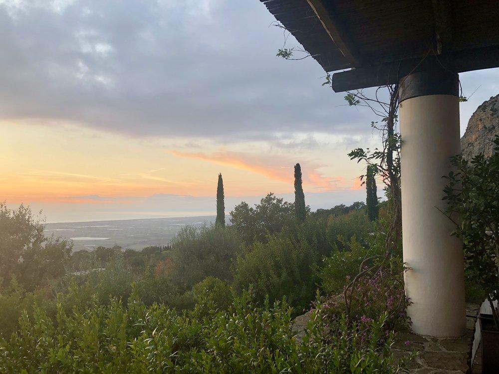 Sunset at Borgo La Pietraia