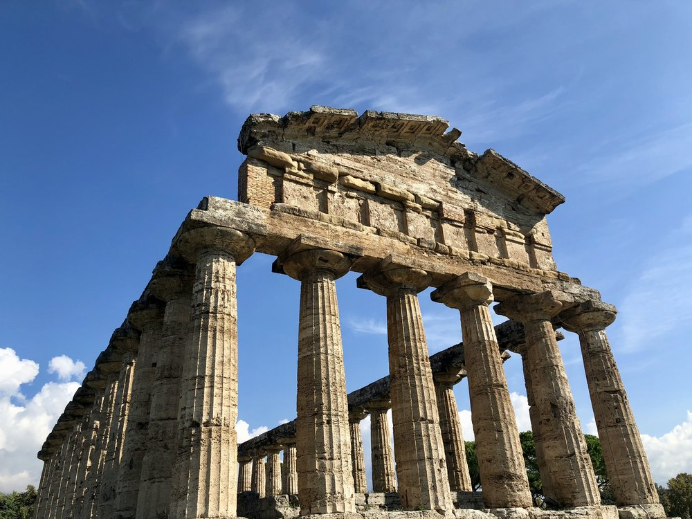 Paestum temples