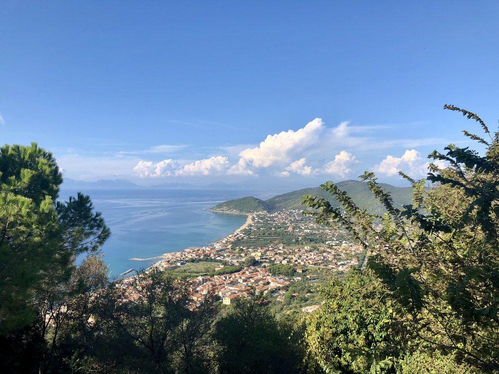 View of Cilento Coast