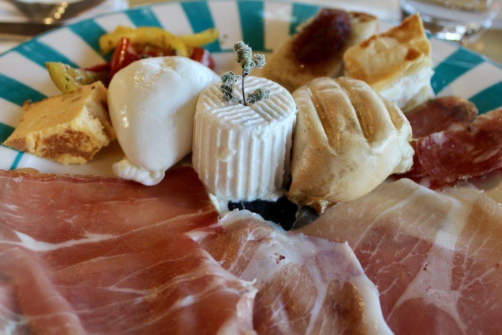 Dinner at San Salvatore