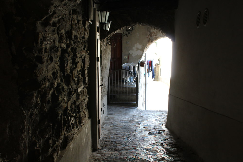 Alleys in Castellabate