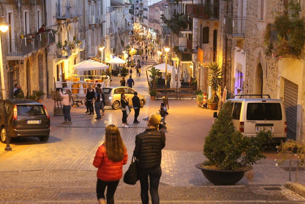Evening Stroll in Agropoli
