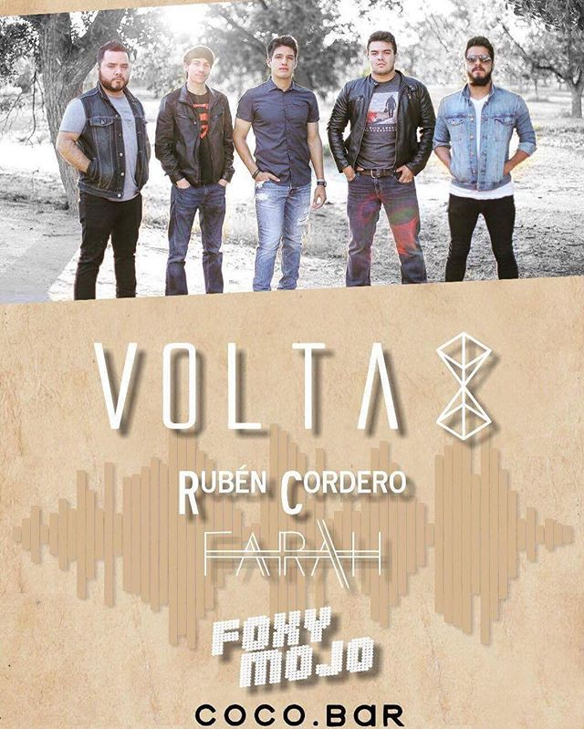 November 27th at @cocobar915 FREE show with our friends in @voltaoficialmx -Stay FOXY.💋