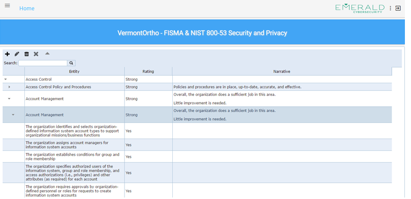 SECURITY & PRIVACY CONTROLS ASSESSMENT