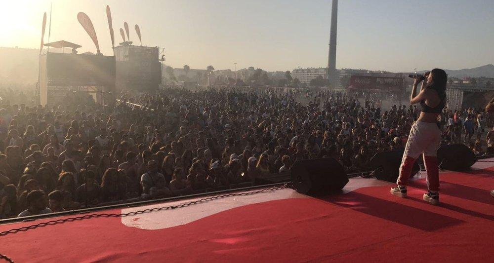 """""""ANIA arrasa en el Festival Coca – Cola Music Experience"""""""