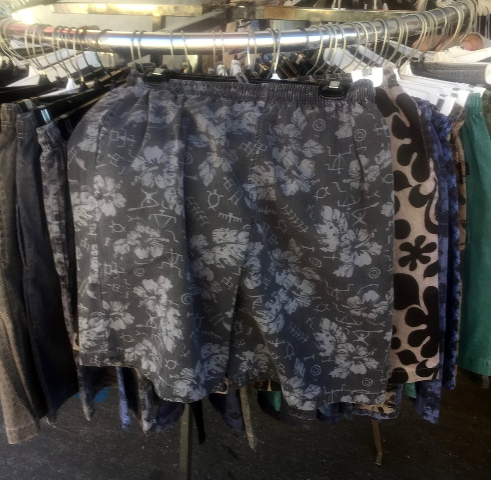 A newer version of skorts for men. I think mine were a little fuller back in the day.