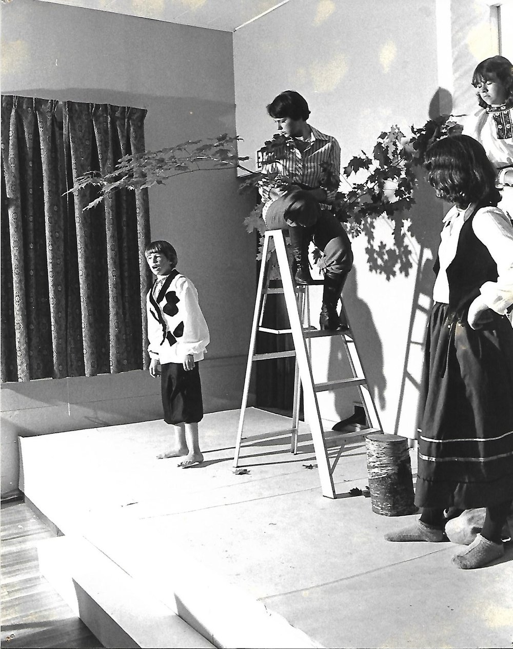 (Left to Right) James Short, Gretchen Forsby, Donna Parber, Alison Gannett