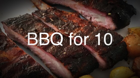 Add to any party or family function with delicious BBQ made by barbecue aficionado, Marc Lancaric. The lucky winner gets their choice of meat (choices are pulled pork, ribs, or chicken), corn and coleslaw on the side, AND delivery to your home!   Value: $150