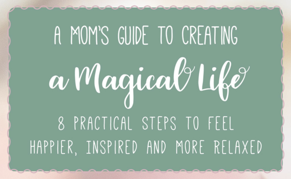 Looking to add more joy and serenity to your life? Kasey Mathews' new book (title above) and her online class, the Magical Living Workshop Series, will help you get there! learn more about kasey  here !   Value: $320