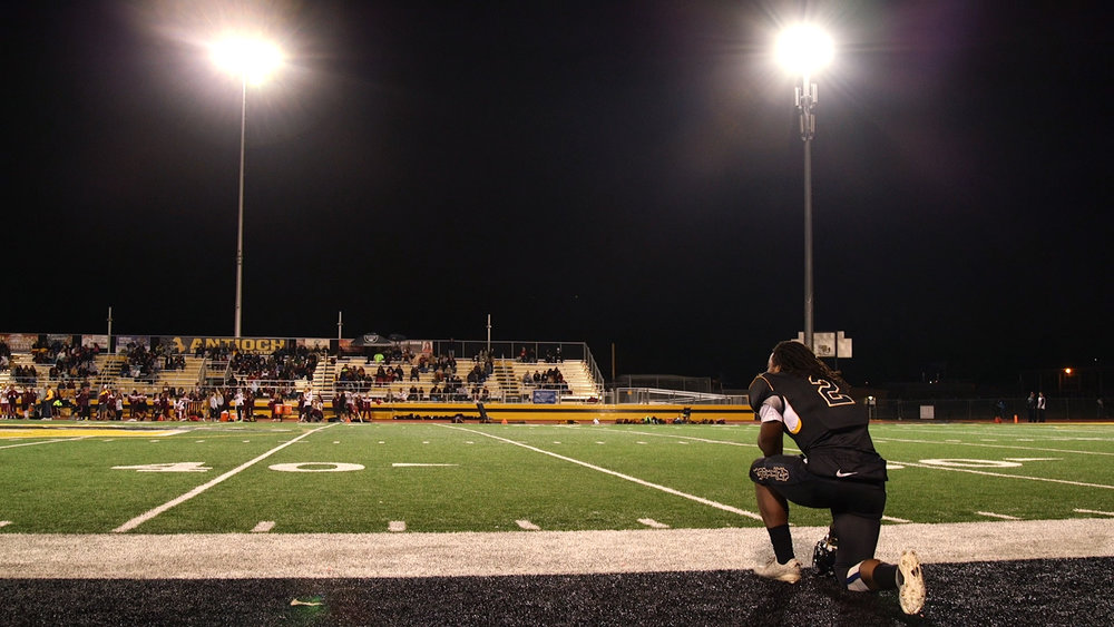 Najee Harris is the country's No. 1 high school football recruit. His success has brought a lot of old timers back to Antioch High games. But the school looks a lot different than when they went there. What Antioch can learn about its future through the game of football.   Subscribe to the full American Suburb series wherever you get your podcasts.