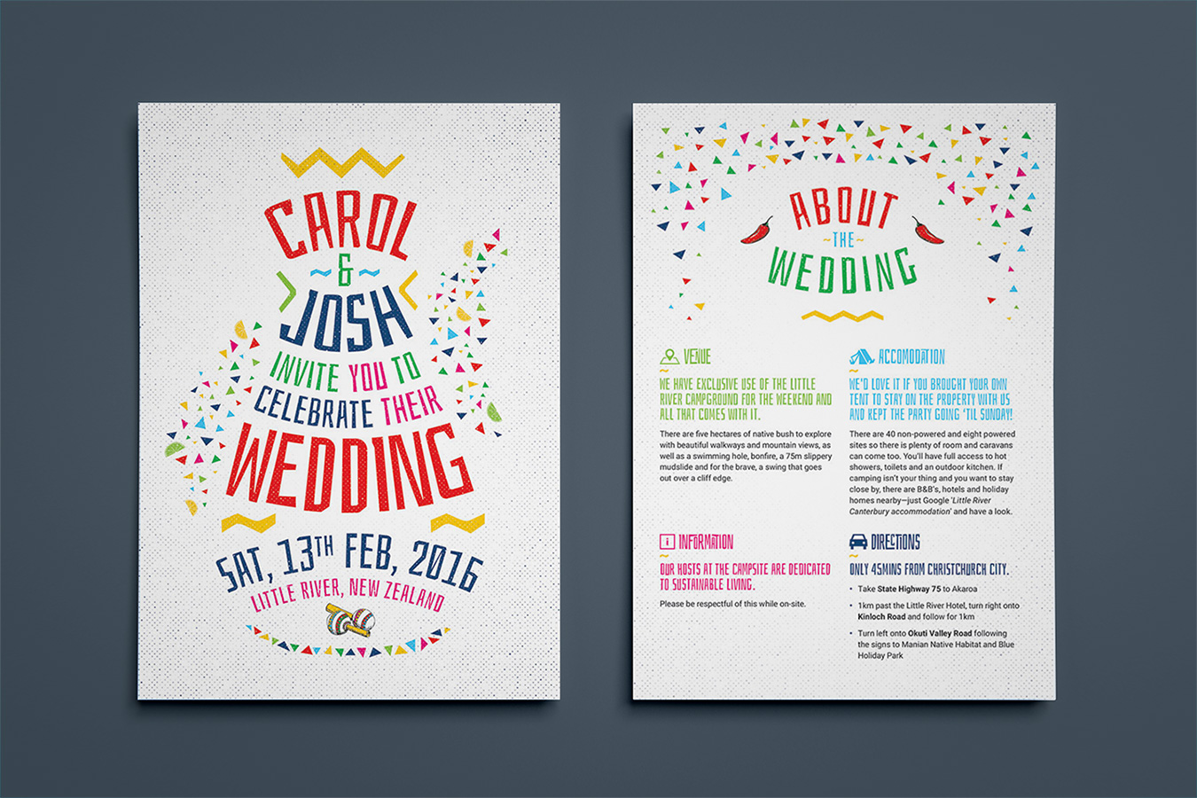 Wedding Invite — Brendon Wellwood