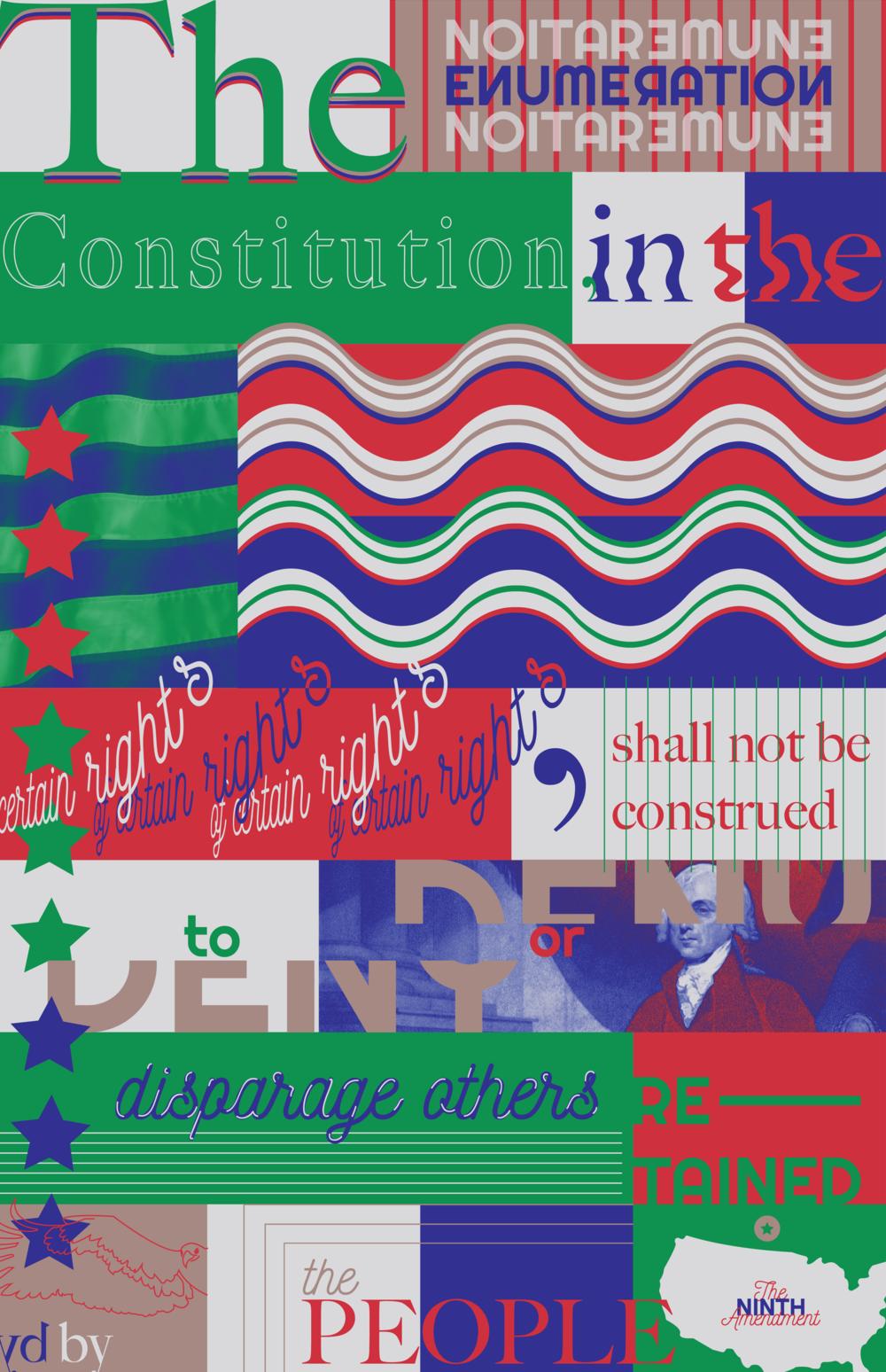 Ninth amendment poster