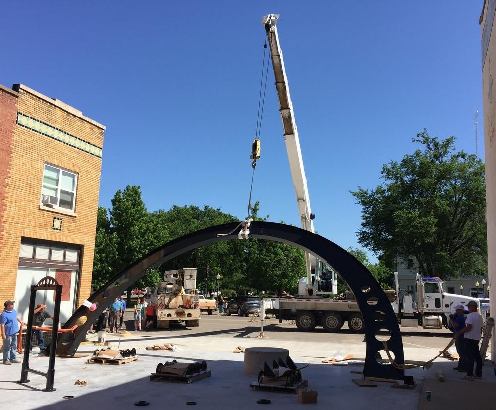 Raising the arch