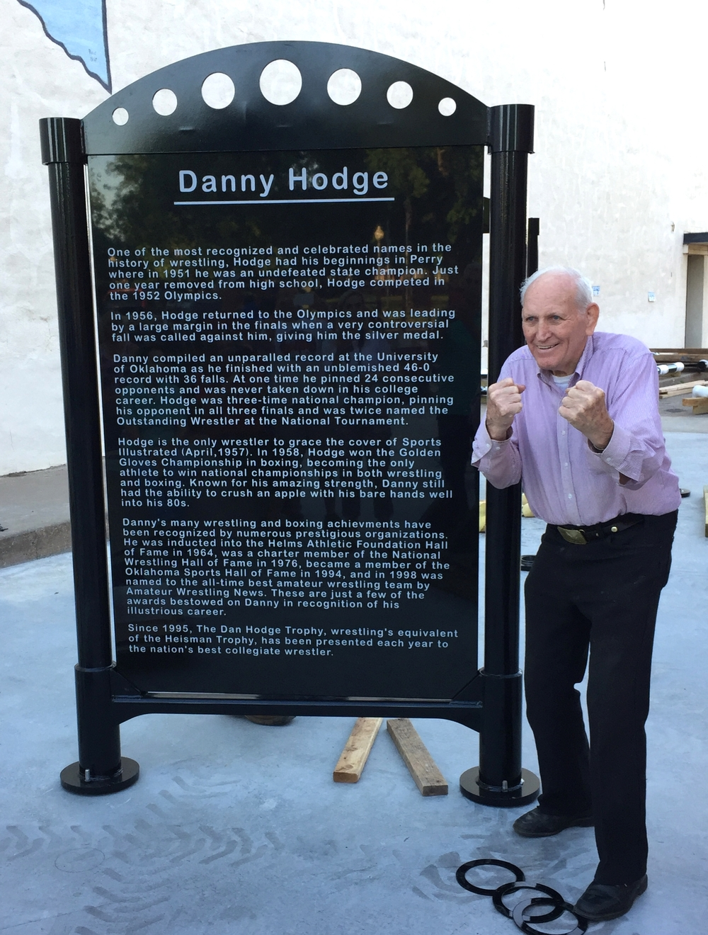 Danny Hodge - ready to take you on!