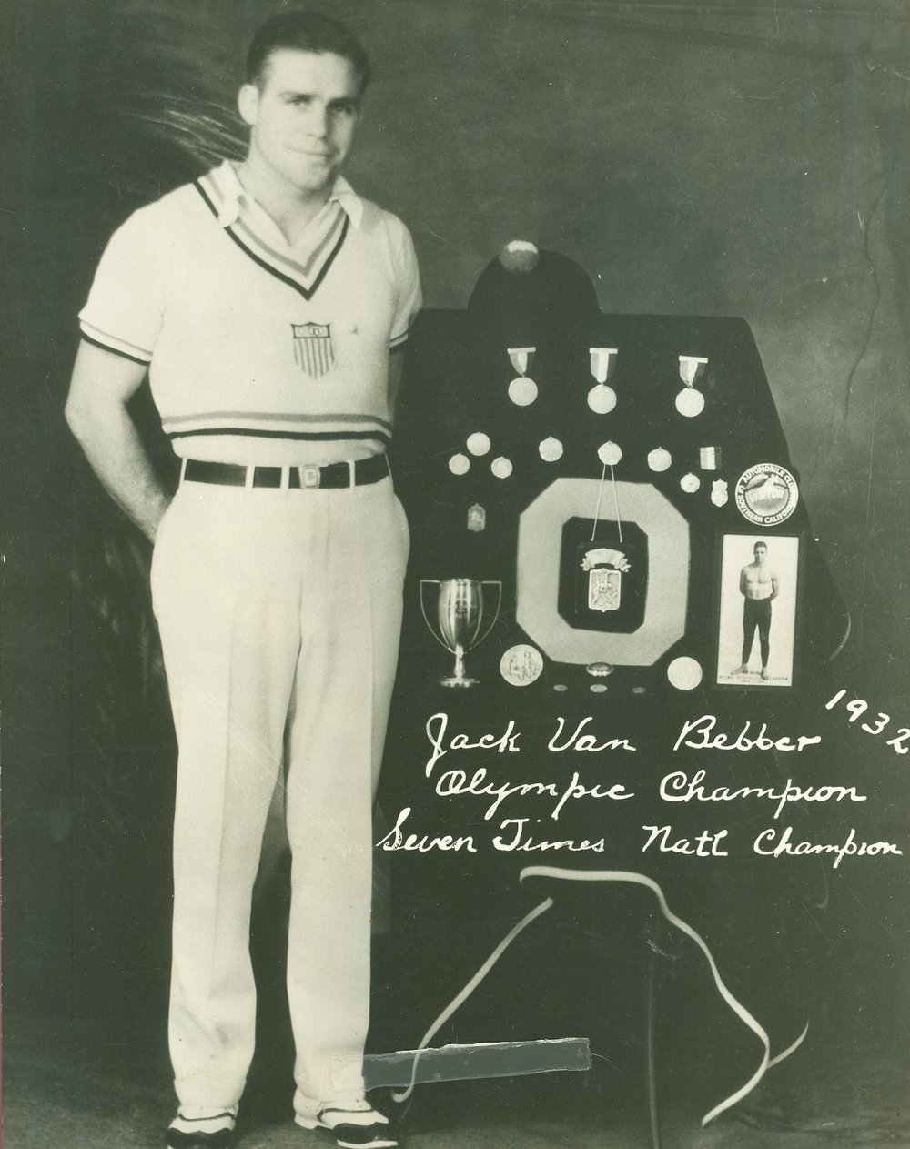 Jack VanBebber 1932 Olympic Champion
