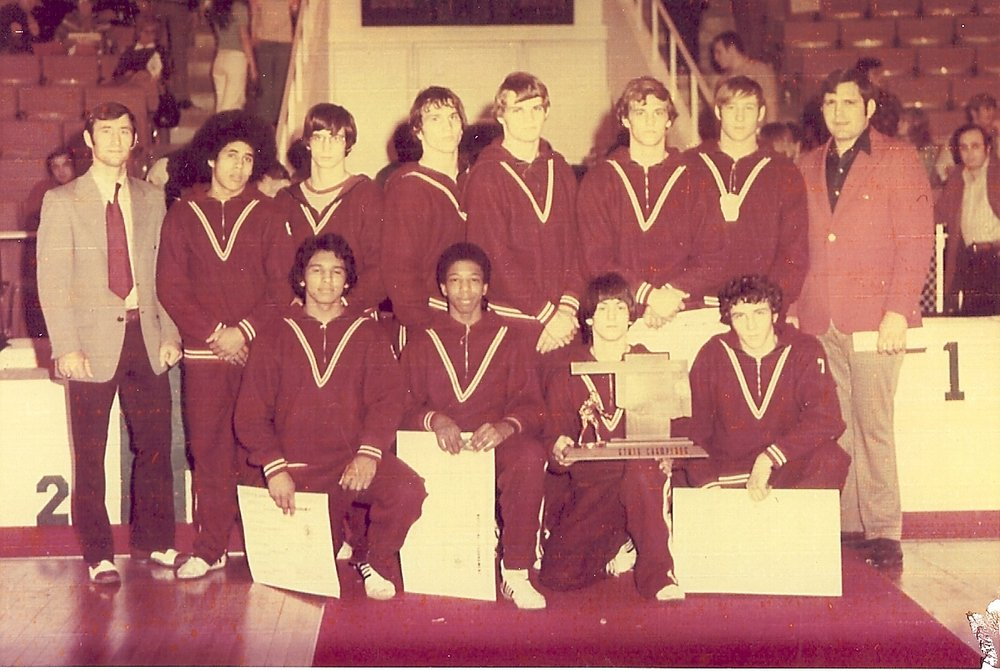 1973 State Champions!    R-L: Names XXXX
