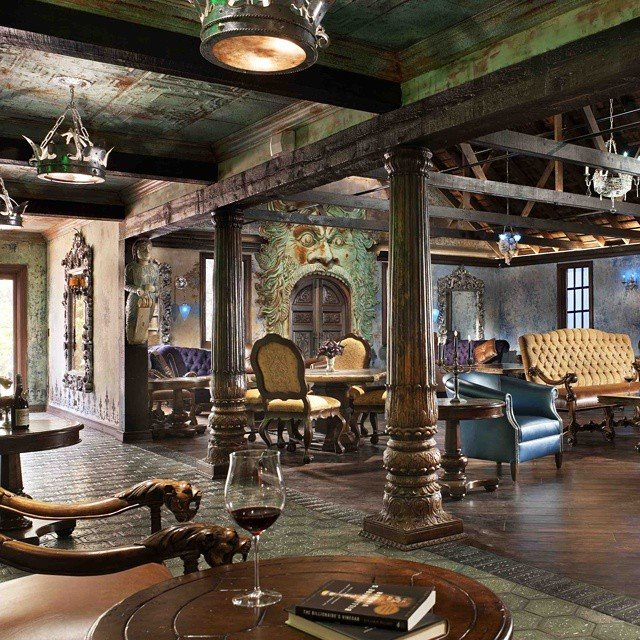 Old world interior design