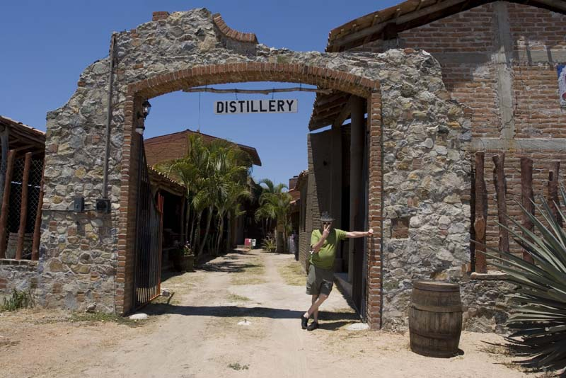 Tenacatita, Tequila distillery and James