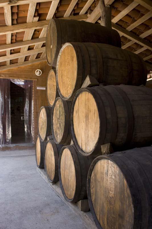 Tenacatita, Tequila distillery barels