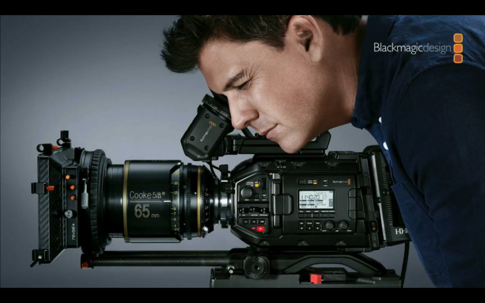 Blackmagic URSA MINI PRO 4.6K