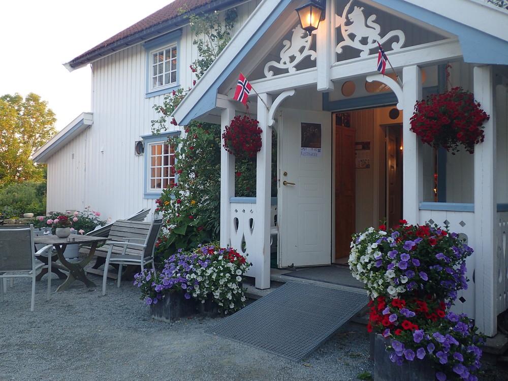Hovedhuset på Klostergården