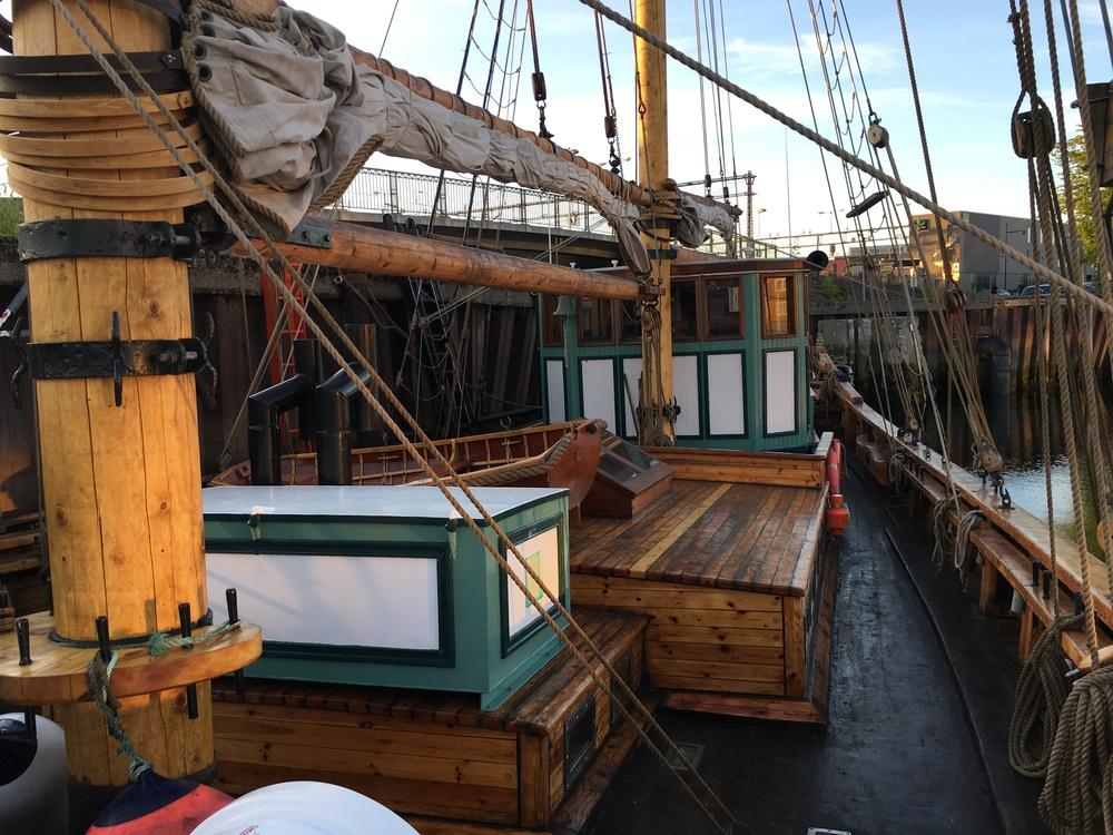 Dekket har nyanser kun en slik båt kan ha