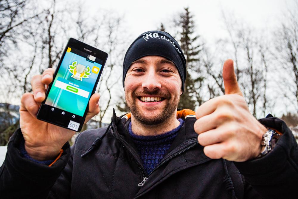 Android telefon guider deg rundt