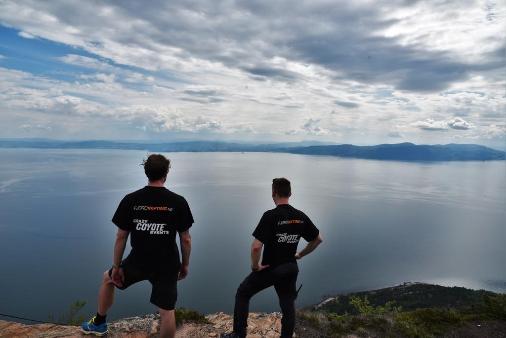 Magisk utsikt mot Trondheim