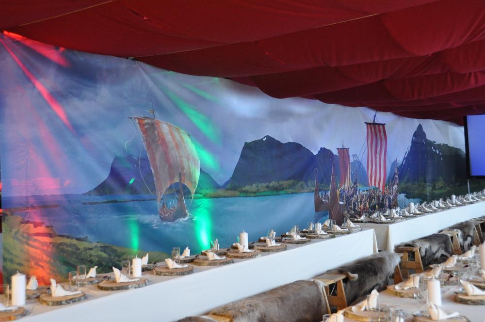 Vikingfest i nye lagerlokaler