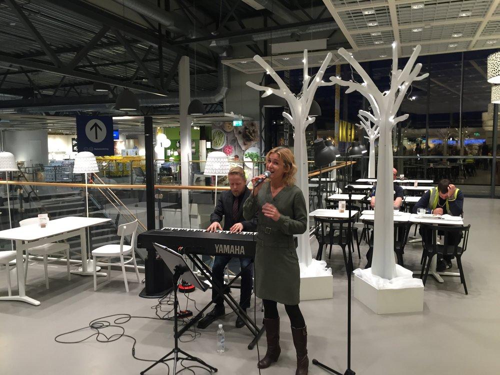 Julefrokost med Christin Hoff