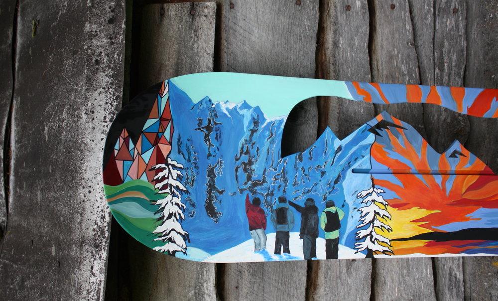 James snowboard.JPG