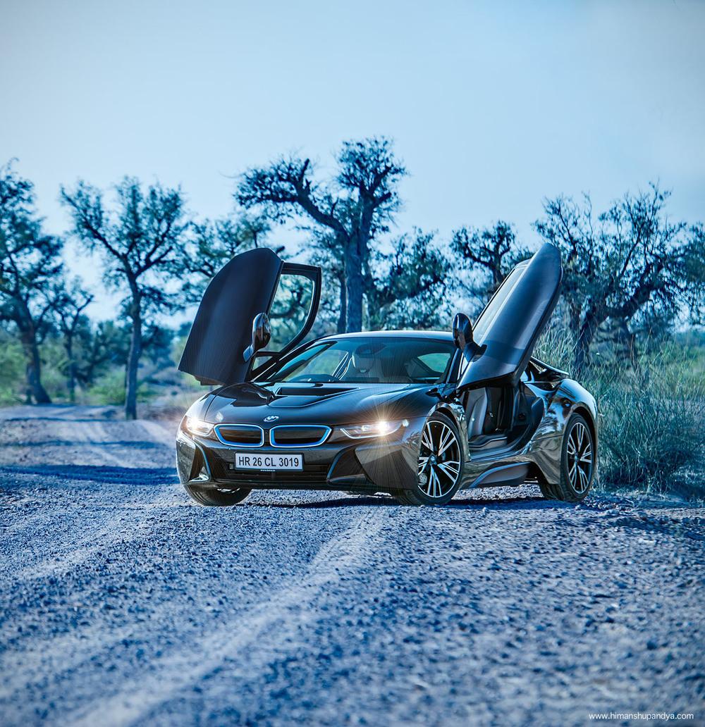 BMW i8  back to  AUTOMOTIVE