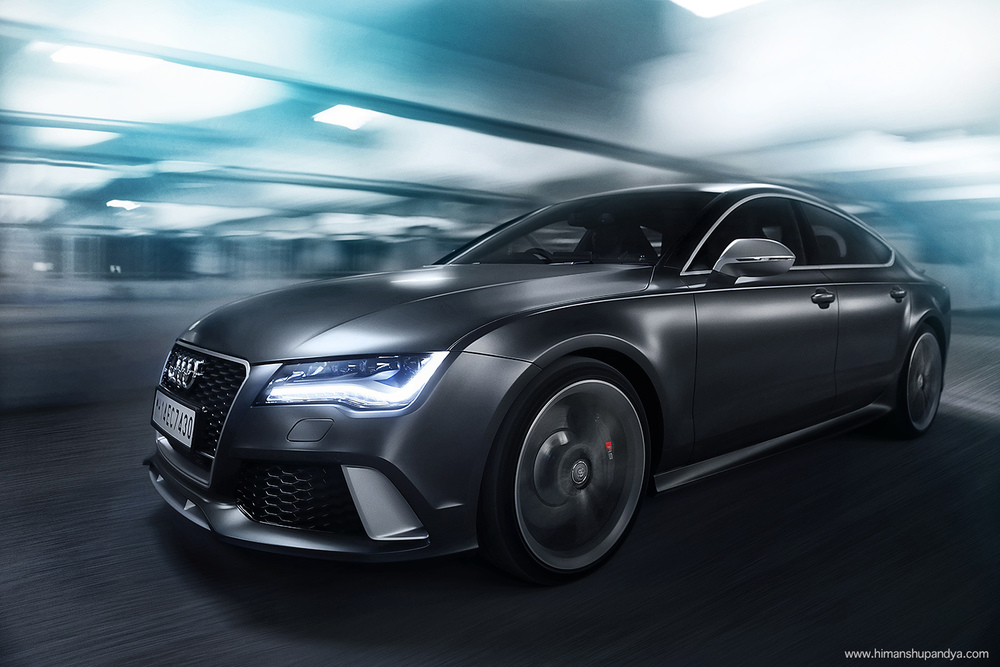 Audi RS7  back to  AUTOMOTIVE
