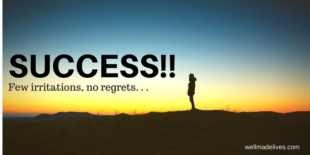 Few irritations, no regrets.