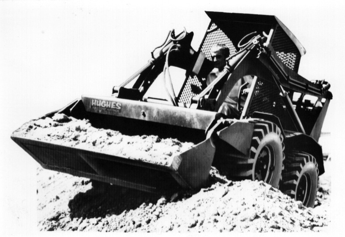 Barry Hughes inventor of Skid Steer Loader 4-in-1 bucket