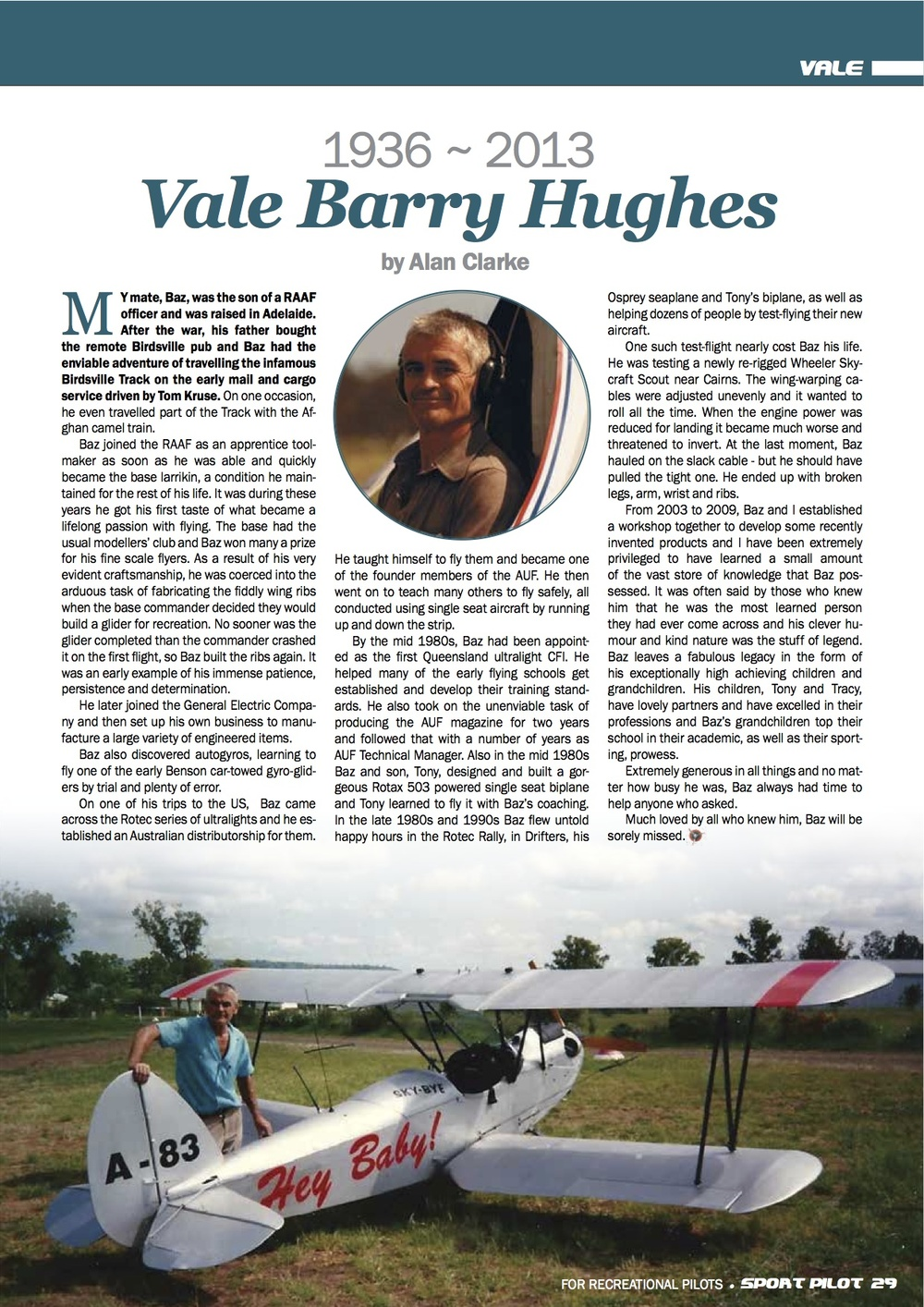 Magazine Tribute to Baz Feb 2014.jpg