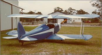 Tony Hughes Biplane