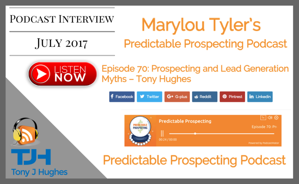 Marylou Tyler Predictable Prospecting