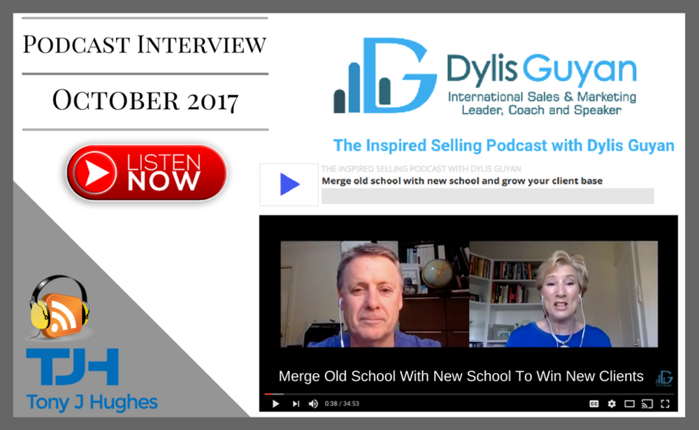 Tony J Hughes podcast with Dylis Guyan