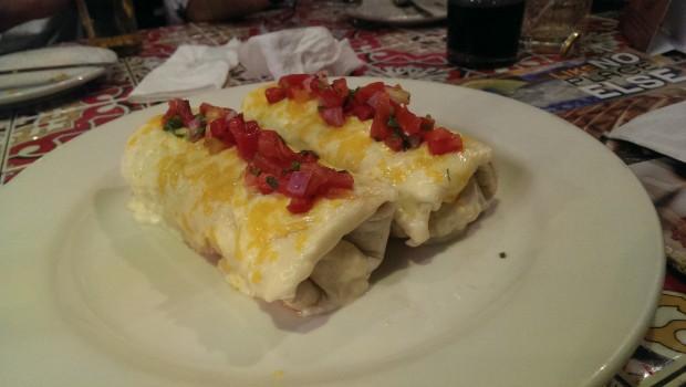 Veg Enchiladas @ Chili's