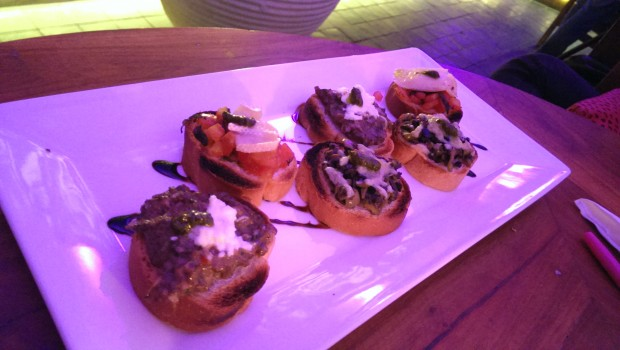 Assorted bruschetta @ LeMangii, Kamla Mills, Lower Parel
