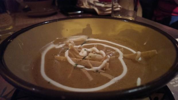 Tortilla Soup @ Sancho's Cantina, Colaba