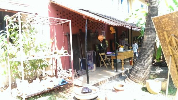 Overhang Area @ Bohemyan Blue, Alibaug