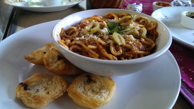 Arabiatta Pasta @ Bohemyan Blue, Alibaug
