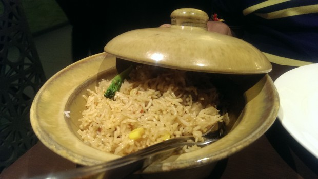 Veg Pot Rice @ China Bistro, Worli