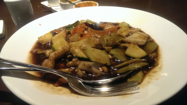 Kung Pao Veg Gravy @ China Bistro, Worli