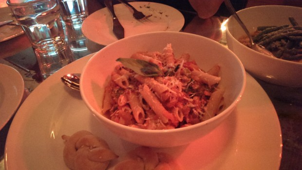 Whole Wheat Penne @ The White Owl Brewery and Bistro, Lower Parel
